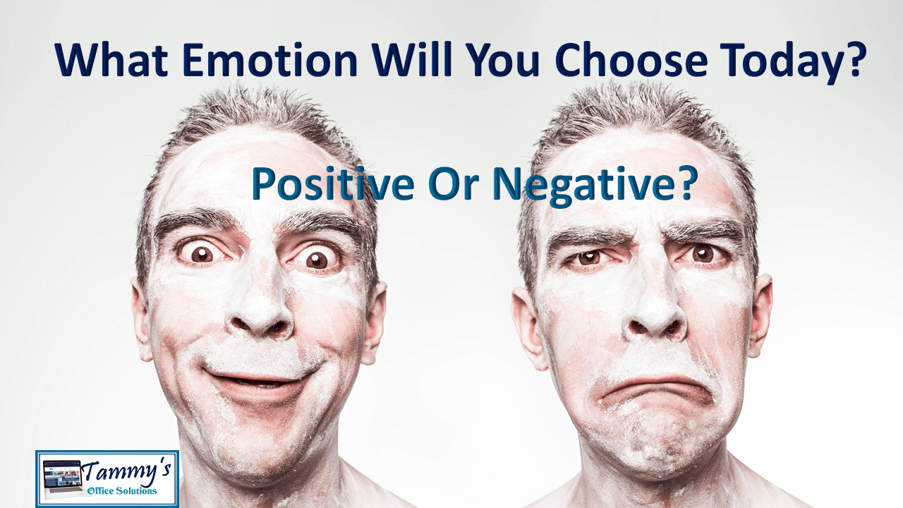 What Emotion Will You Choose?