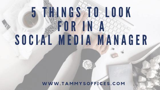 Social Media Manager - TammysOffices