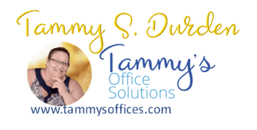 Tammy S Durden Founder & CEO of Tammy's Office Solutions