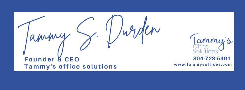 Tammy S. Durden signature