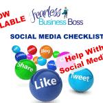 Free Social Media Checklist