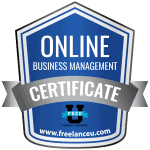 Online Business Management Cerification
